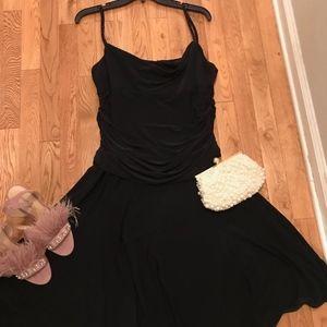 Jones New York Beaded Strap Cocktail Dress